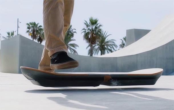 Lexus показал тест-драйв летающей доски из  Назад в будущее