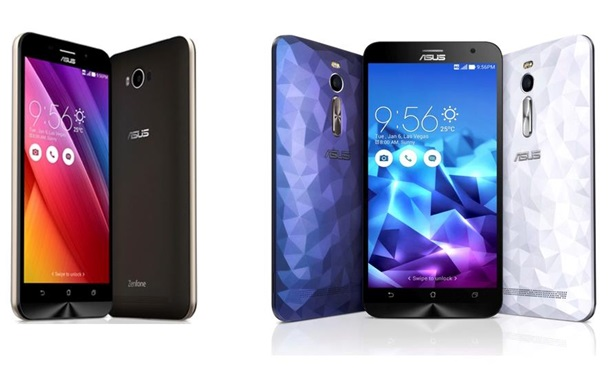 Большое пополнение: Asus выпустил смартфоны Zenfone Max, Laser и Deluxe