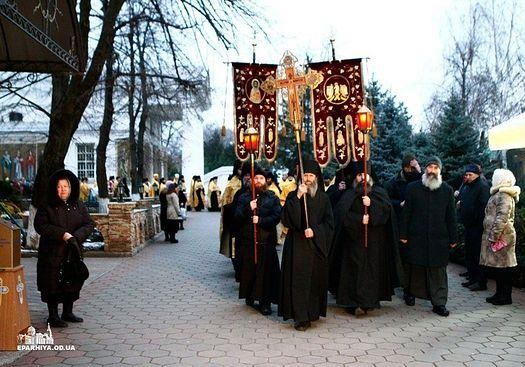 РПЦ борется с сектами в Одессе!
