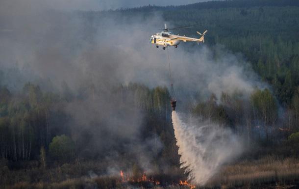Нова загроза Чорнобиля. Як у зоні відчуження борються з пожежами