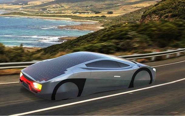 Австралийцы создали спорткар на солнечных батареях