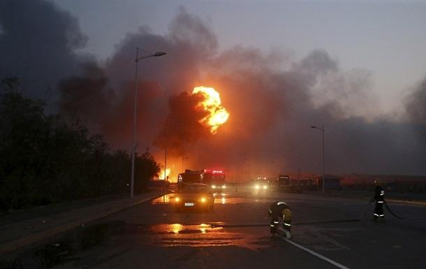 Взрыв в Китае: на складе обнаружен выживший