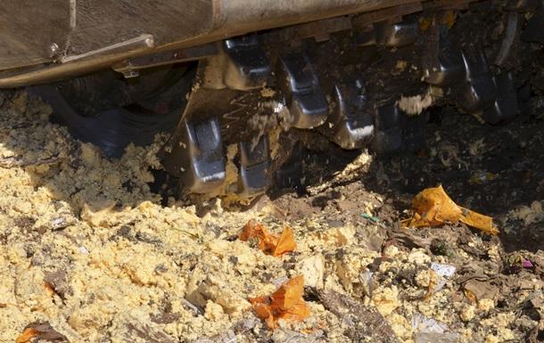 В России отчитались об уничтожении почти 600 тонн продуктов