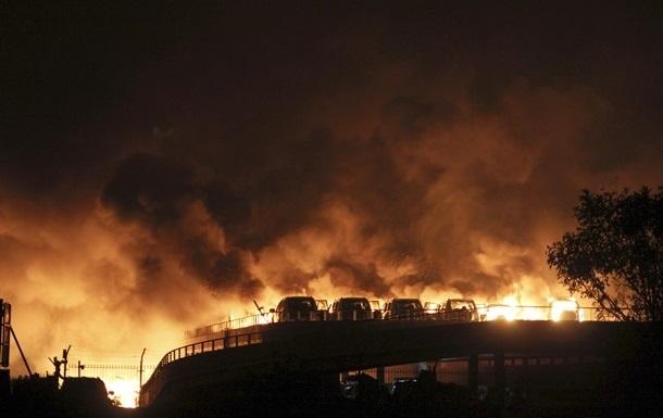 Новый взрыв прогремел в китайском Тяньцзине