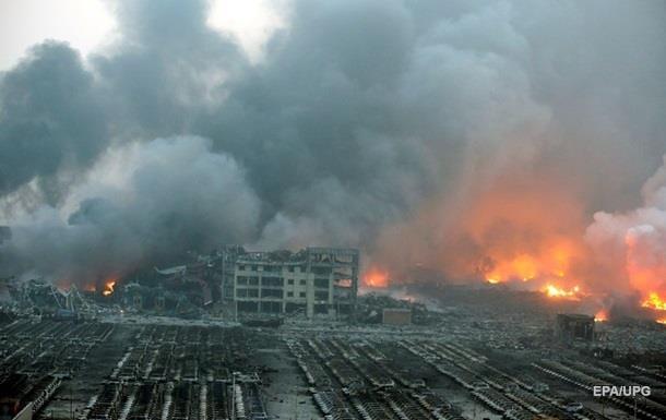 Взрывы в Тяньцзинь: задержано руководство портового склада