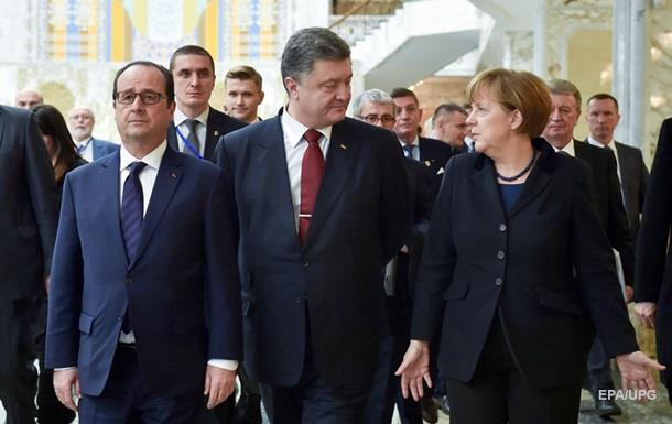 Порошенко на День Незалежності зустрінеться з Меркель і Олландом