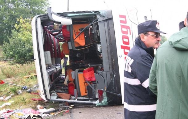 В Румынии перевернулся автобус с украинцами: есть жертвы