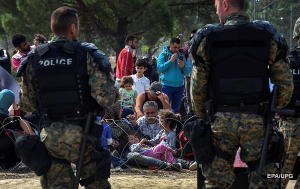 В Македонии мигрантов отогнали от границы слезоточивым газом – СМИ