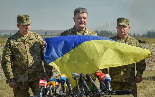 Порошенко назвал условие проведения выборов в Донбассе