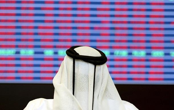 На биржах Ближнего Востока произошел резкий обвал