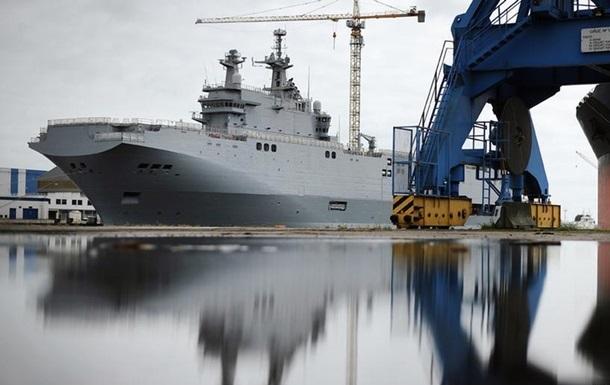 Франция перечислила России неустойку за Мистрали - СМИ