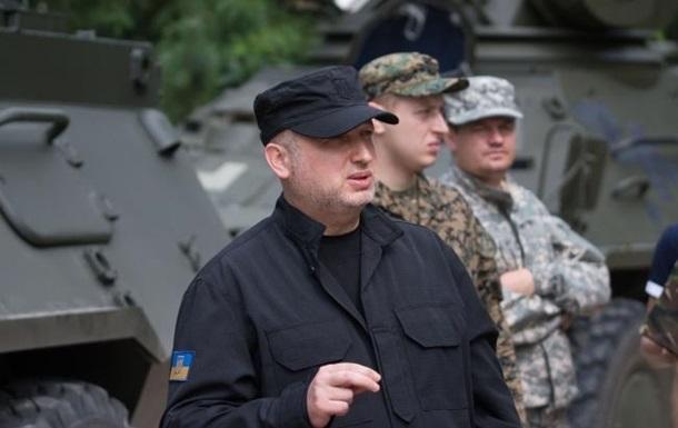 Турчинов: Россия готовит мосты через Северский Донец