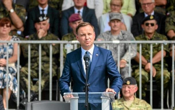 Глава МЗС Польщі радить президенту зважувати слова щодо України