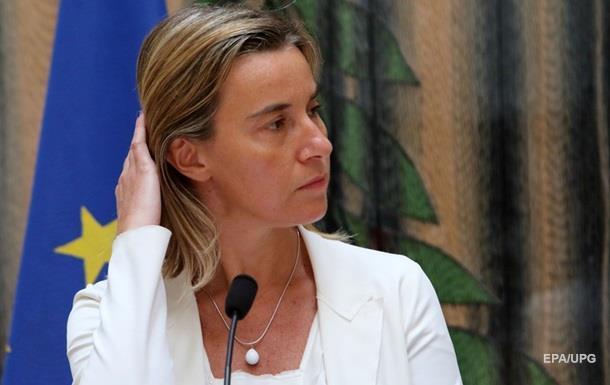 Глава дипломатии ЕС приняла приглашение Порошенко посетить Украину