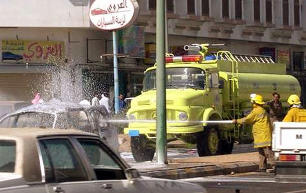 На востоке Саудовской Аравии произошел сильный пожар