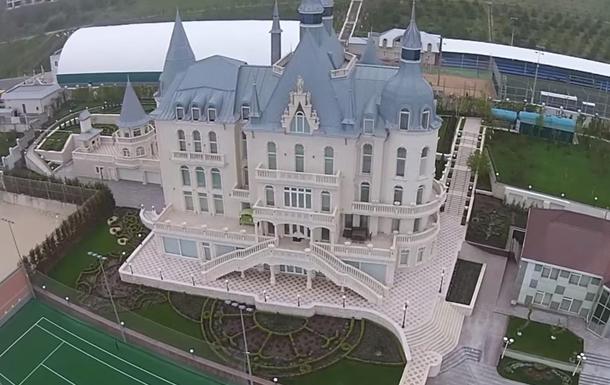 Активисты захватили  замок  Кивалова в Одессе
