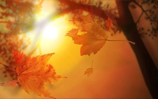 Осень в Украине начнется с сильной жары