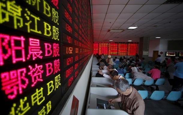 Китайский рынок возобновил рекордное падение