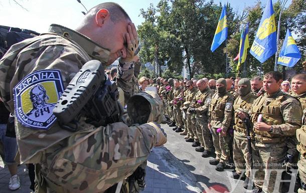 В батальоне Сич отказались от метальщика гранаты под Радой