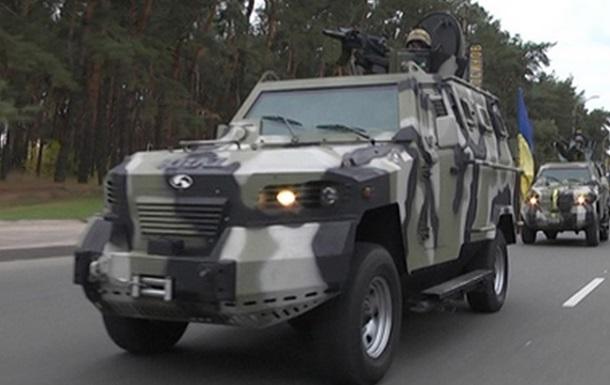 Милиция усилила охрану центра Киева