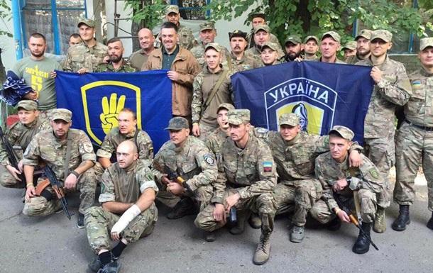 МВД проверяет поездку Тягнибока в зону АТО к батальону  Сич