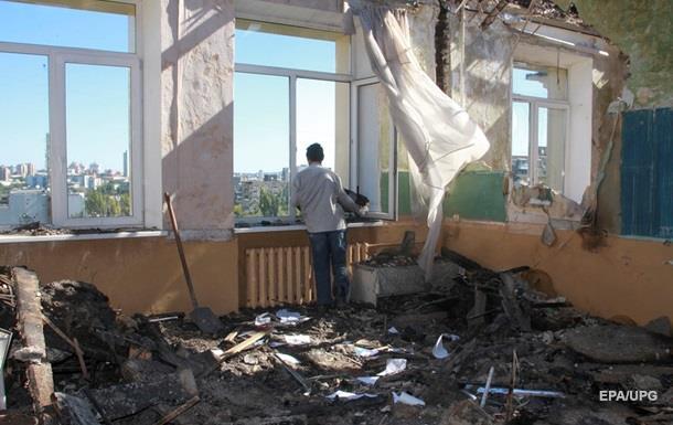 Из-за разрушений в Донецкой области не открылось 13 школ