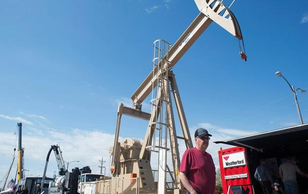 Цена на нефть падает