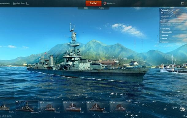 Объявлена дата выхода World of Warships