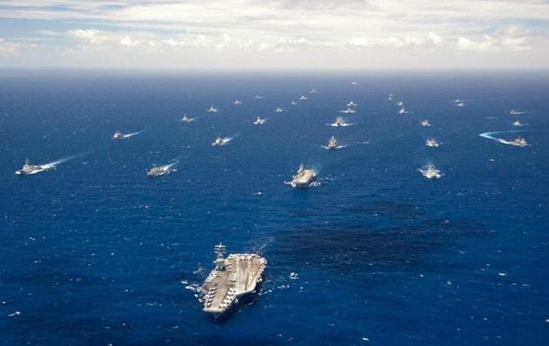 Китайские военные корабли подошли к границам США