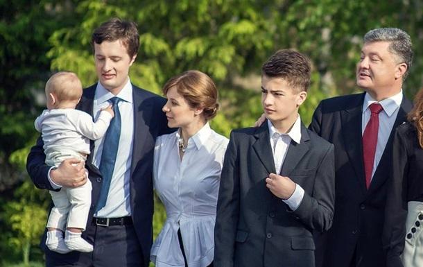 Порошенко показал своего единственного внука Петра