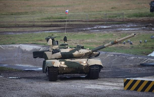В России впервые показали стрельбу из супертанка Армата