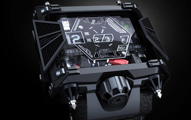 Вдохновленные Дартом Вейдером: в США создали часы Star Wars