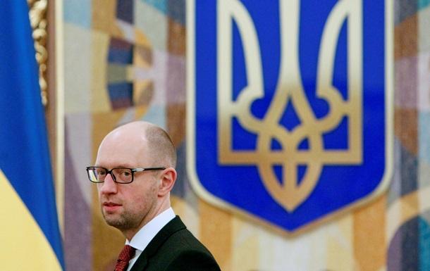 Яценюк: Украина выполнила минские соглашения