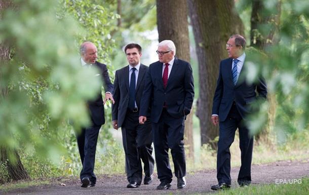 Климкин рассказал, что обсудят главы МИД  четверки  в Берлине