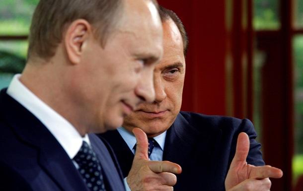 Путин и Берлускони встретились в Крыму
