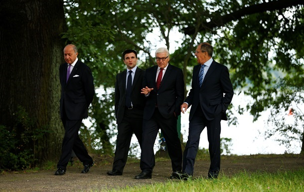 В Берлине завершилась встреча глав МИД  нормандской четверки