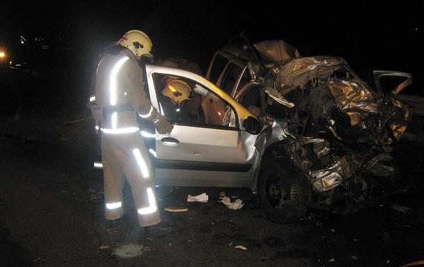 В ДТП на трассе Киев - Одесса погибли четыре человека
