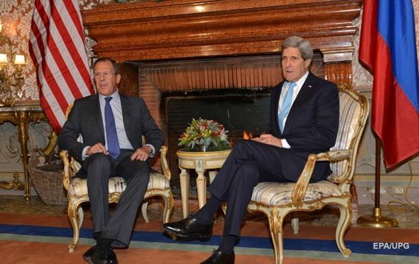 Керри и Лавров обсудили ситуацию в Украине и в Сирии