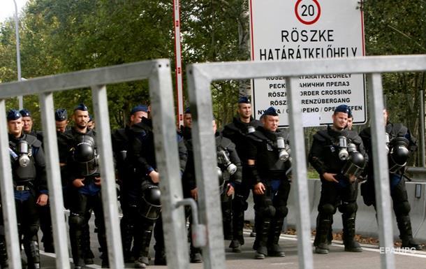 На венгерской границе собралось пять тысяч беженцев