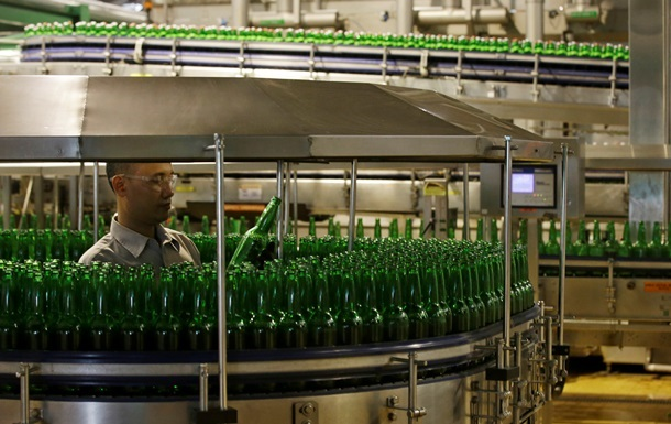 Производство алкоголя в Украине выросло почти на треть