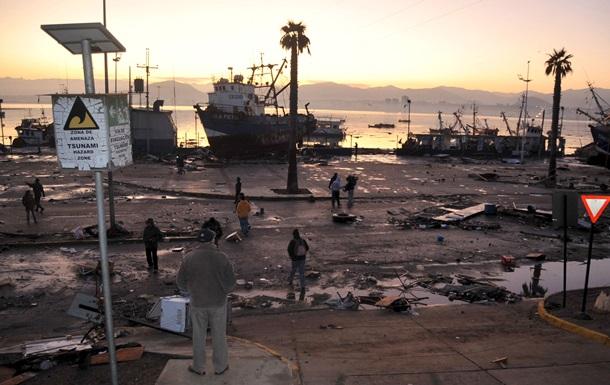 Количество жертв землетрясения в Чили достигло 10