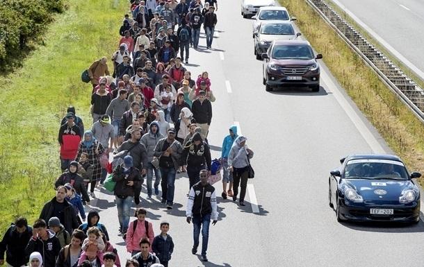 Мигранты прорвались через границу Сербии и Хорватии