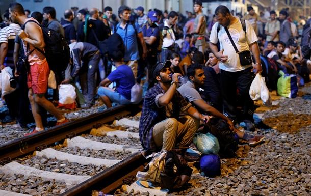 Хорватия практически полностью перекрыла движение на границе с Сербией