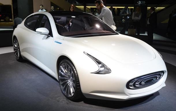 Во Франкфурте показали конкурента электромобилей Tesla