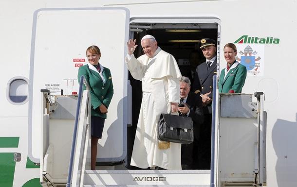 Папа Римский начал свой официальный визит на Кубу