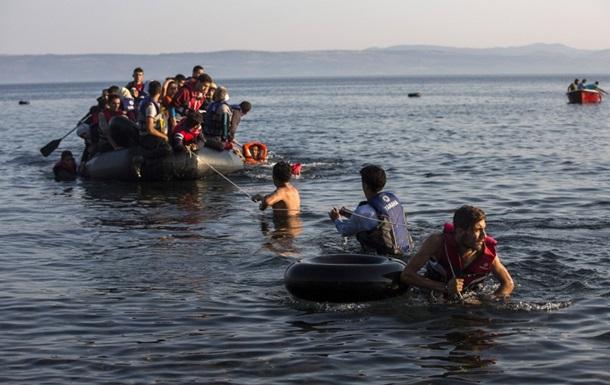 У греческого острова Лесбос затонула лодка с мигрантами