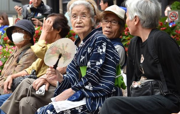 Число жителей Японии старше 80 лет превысило 10 миллионов человек