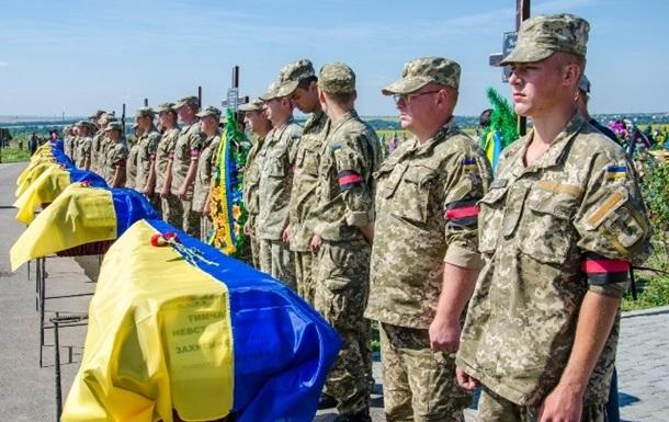 Армия озвучила последние цифры погибших в АТО