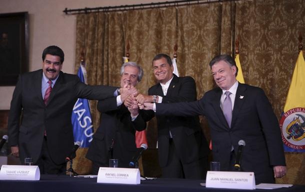 Венесуэла и Колумбия договорились о нормализации отношений