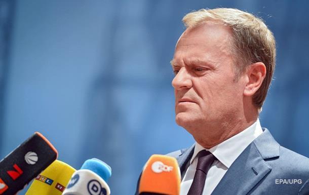 Глава Евросовета о беженцах: На кону будущее Шенгена